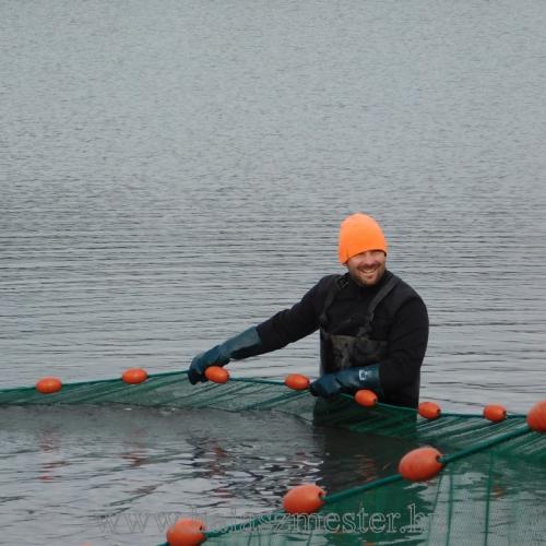 Halászat hideg vízben